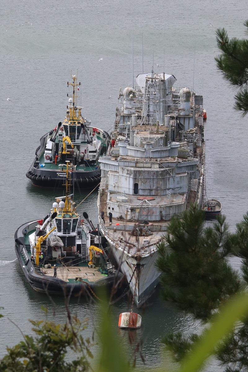 [Autre sujet Marine Nationale] Démantèlement, déconstruction des navires - TOME 2 - Page 6 Img_9219