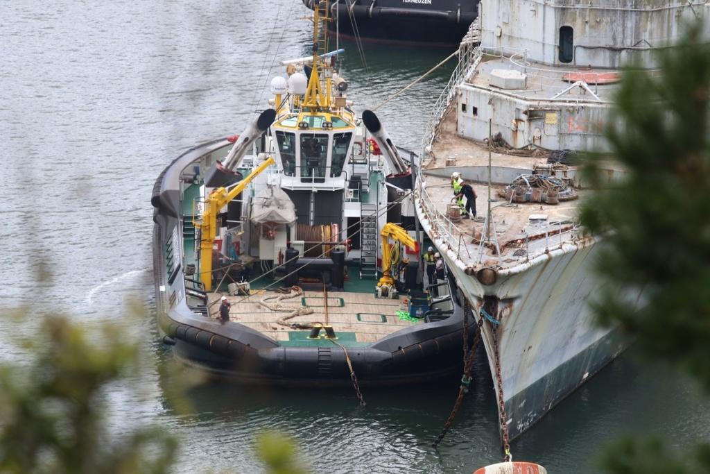 [Autre sujet Marine Nationale] Démantèlement, déconstruction des navires - TOME 2 - Page 6 Img_9221