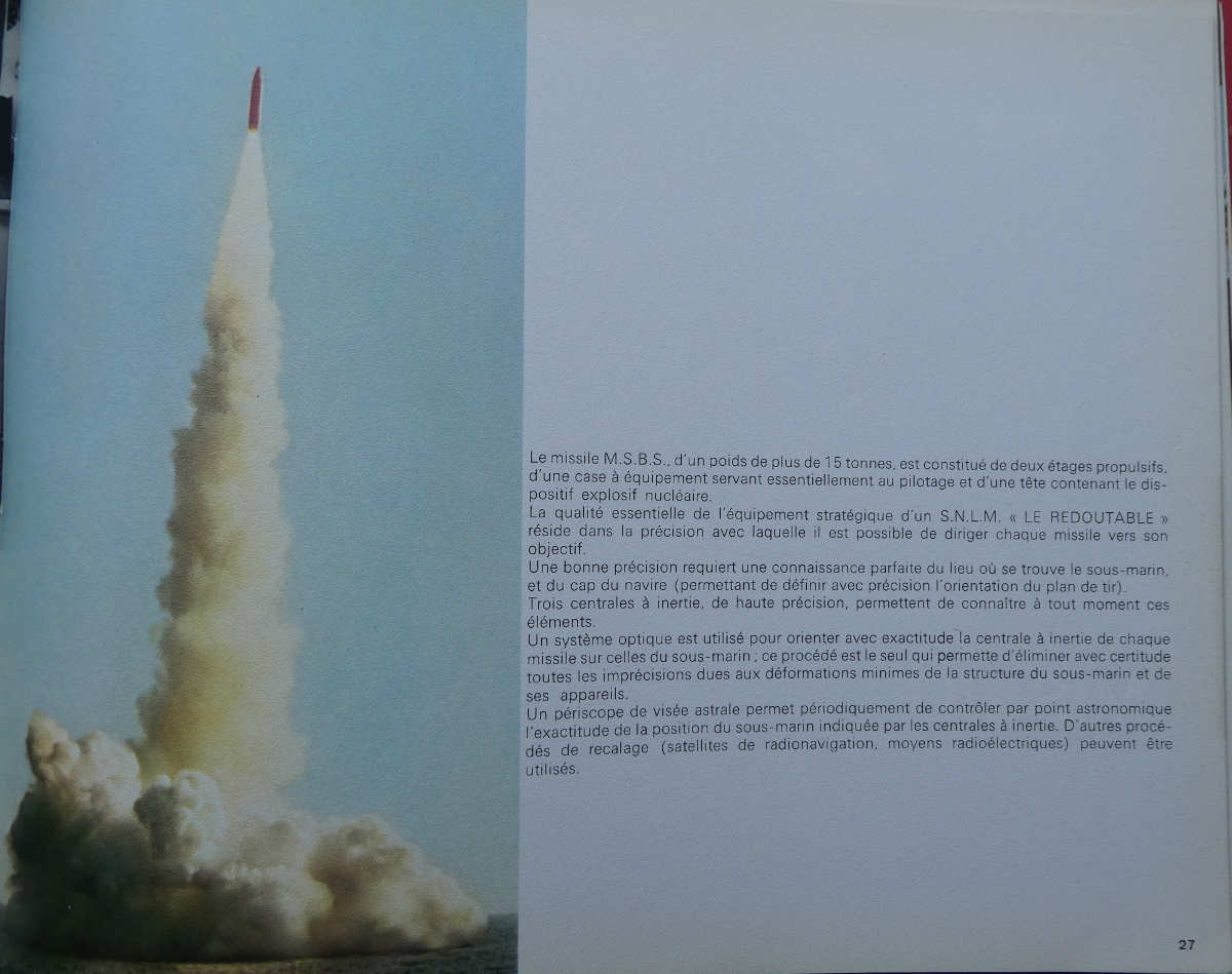 LE REDOUTABLE (SNLE) (Sous surveillance spéciale) - Page 32 P1000516