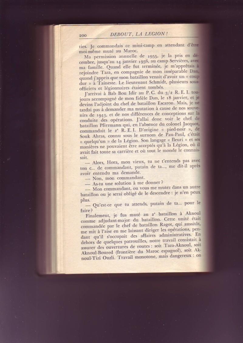 - Les mémoires du capitaine HORA, uniquement partie lgion. - Page 2 Image116