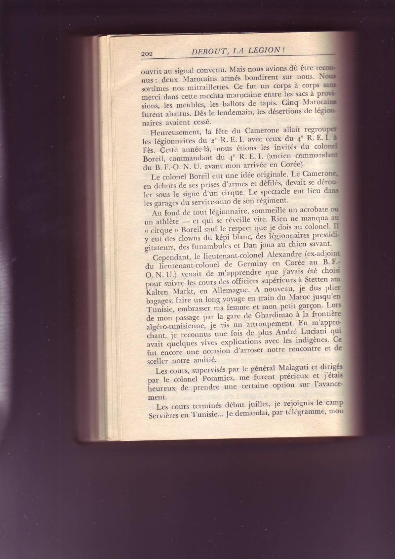 - Les mémoires du capitaine HORA, uniquement partie lgion. - Page 2 Image118