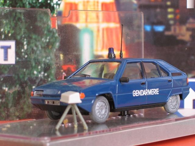 Miniatures Citroën et la Gendarmerie Nor-1514