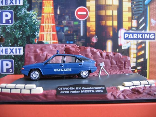 Miniatures Citroën et la Gendarmerie Nor-1515
