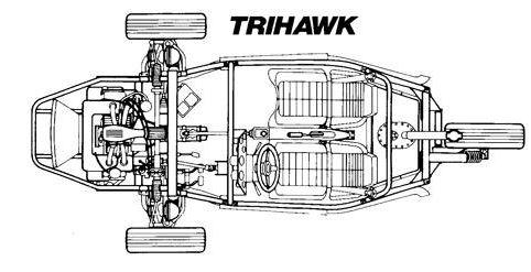 tricycle américain motorisé par un moteur de GSA Captur10