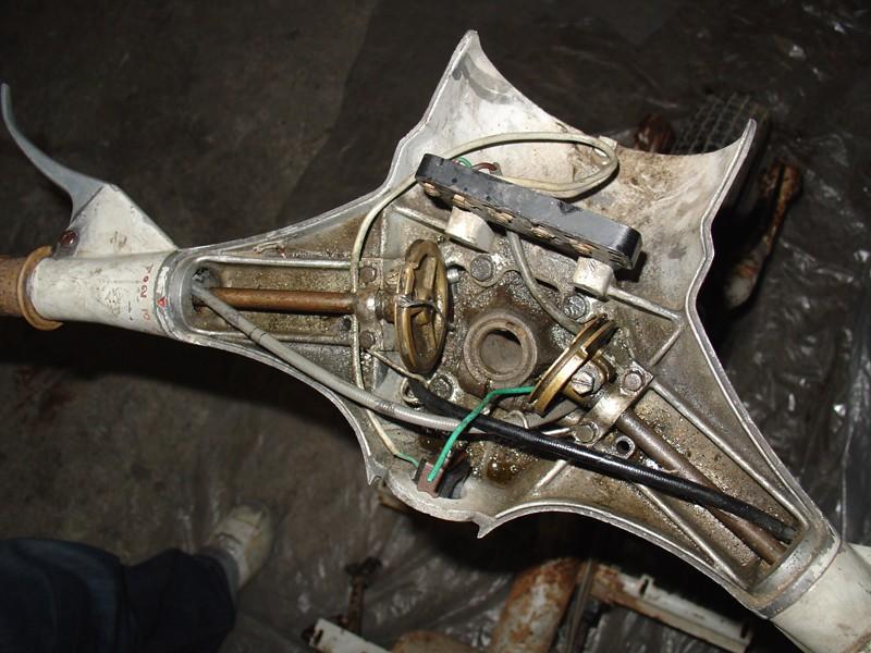 1ère resto : lambretta LI 125 série 2 Lambre11