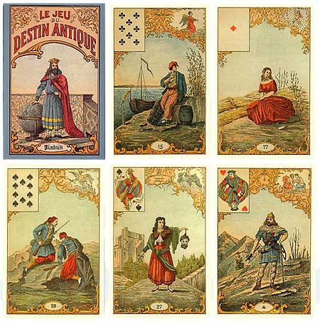 Le Grand Jeu Mythologique de Melle Lenormand Destin10