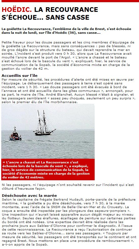 Octobre 2008 - Frayeur pour La Recouvrance Recouv10