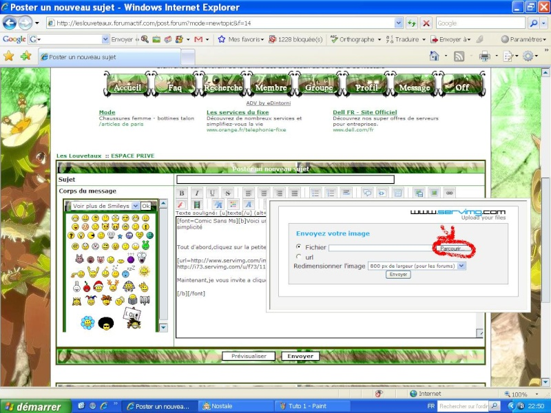 Tuto : Comment afficher images et photo dans un article Tuto_210
