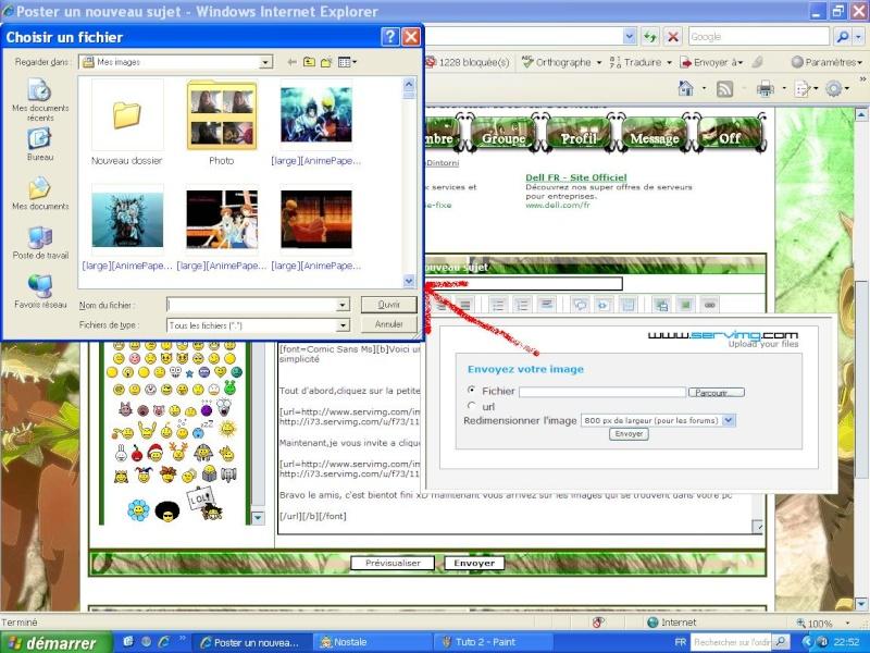 Tuto : Comment afficher images et photo dans un article Tuto_310
