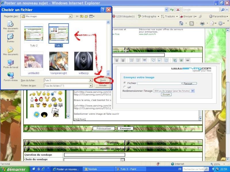 Tuto : Comment afficher images et photo dans un article Tuto_410