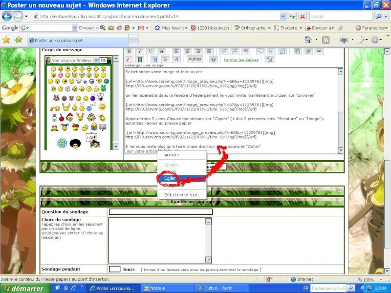 Tuto : Comment afficher images et photo dans un article Tuto_710