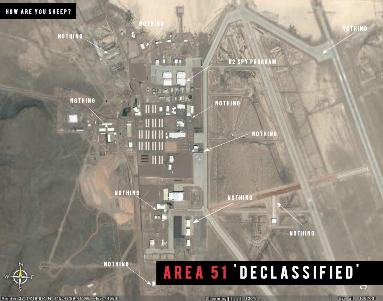 La CIA reconnaît pour la première fois l'existence de la Zone 51 9g10
