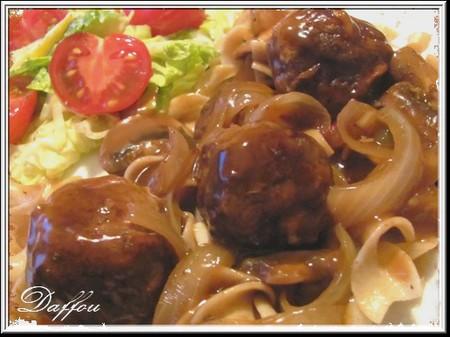 Boulettes sauce moutarde Boulet11