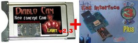Kit  CAS 3 Plus USB  Interface + Diablo cam v2.3 Diablo10