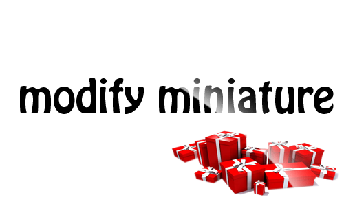 Modify-Miniature
