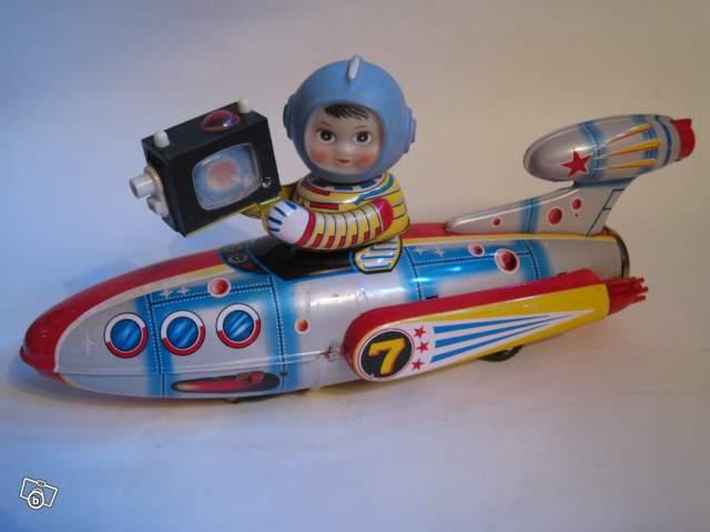 Robots jouets vintages - vintage robot toys Jouet210