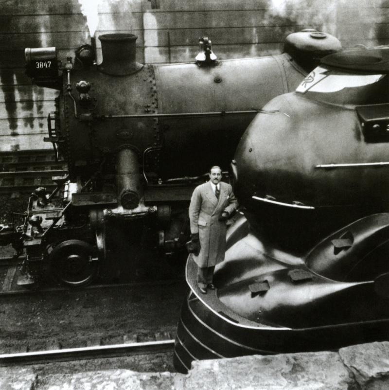 Locomotives et trains vintages Loco10