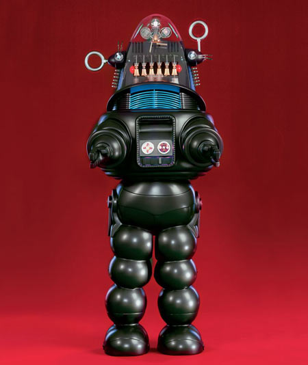 Robots jouets vintages - vintage robot toys Robbyt10