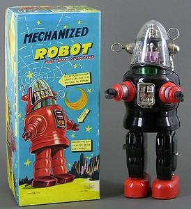 Robots jouets vintages - vintage robot toys T2ec1610