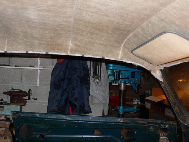 Restauration d'une SIMCA Aronde Grand Large de 1955 surnommée L'Arlésienne ... - Page 6 P1130827