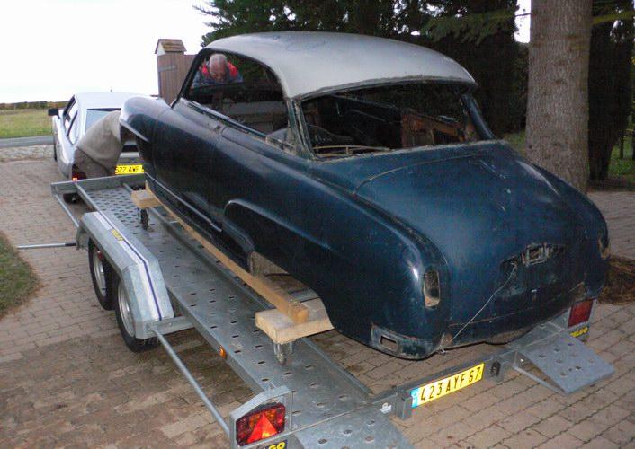 Restauration d'une SIMCA Aronde Grand Large de 1955 surnommée L'Arlésienne ... - Page 6 P1130920