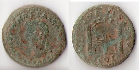 As hispano-romano de Emerita, reinado de Tiberio. Emerit10