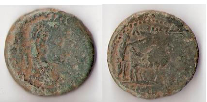 As hispano-romano de Emerita, reinado de Augusto. Emerit11