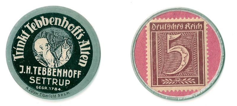 Varios en cartón-moneda Kapsel10