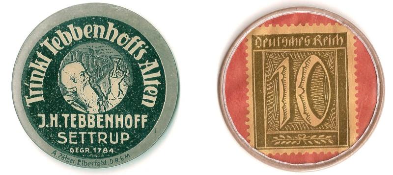 Varios en cartón-moneda Kapsel11