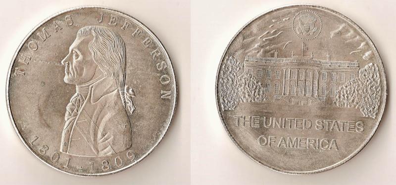 conmemorativa estados unidos Medall10