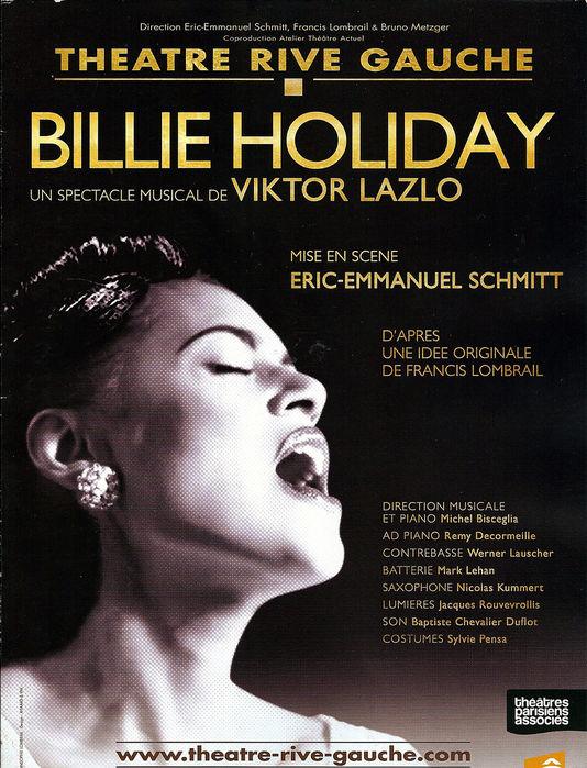 Viktor Lazlo rend hommage à Billie Holiday  18171210