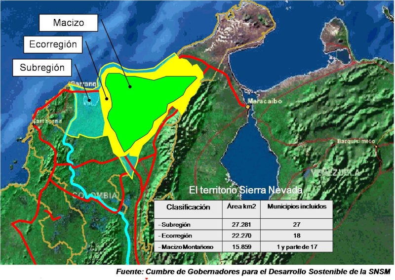 Maria Isabel VALDERRAMA GONZÁLEZ : trabajo de campo en Santa Marta Mapa_a10