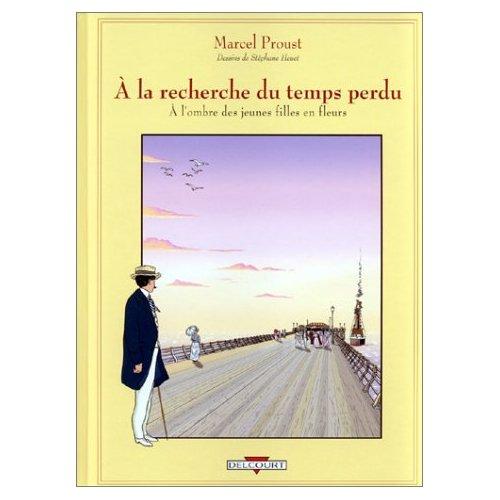 """Les BDs """"littéraires"""" (Proust et autres...) 41whf410"""