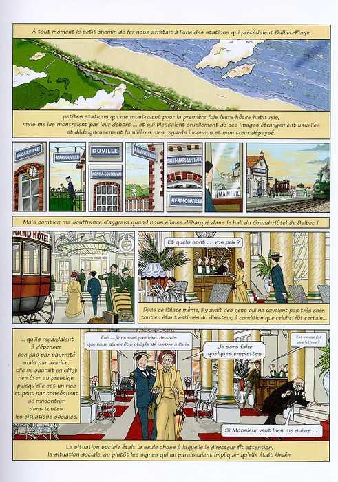 """Les BDs """"littéraires"""" (Proust et autres...) Recher11"""