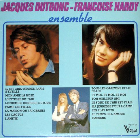 Françoise Hardy et Jacques Dutronc Ensemb11