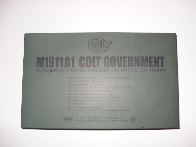 Colt M1911 A1 Marui Sn851010
