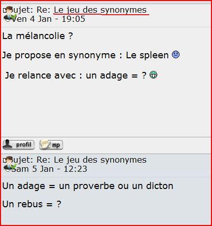 Des pistes pour un enseignement actif du vocabulaire Synony10