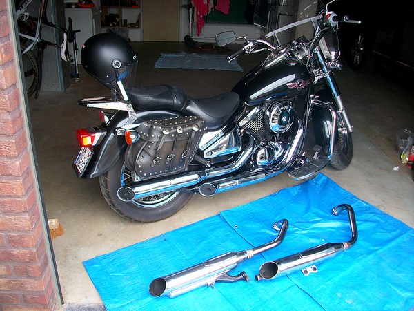 800 VN - Échappement de la moto de lebest Echapp10