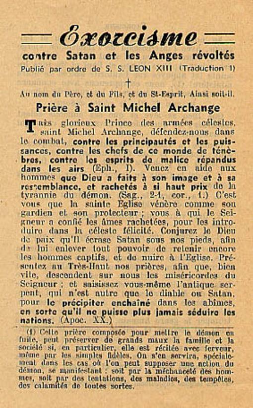 Exorcisme de Léon XIII. Exorci10
