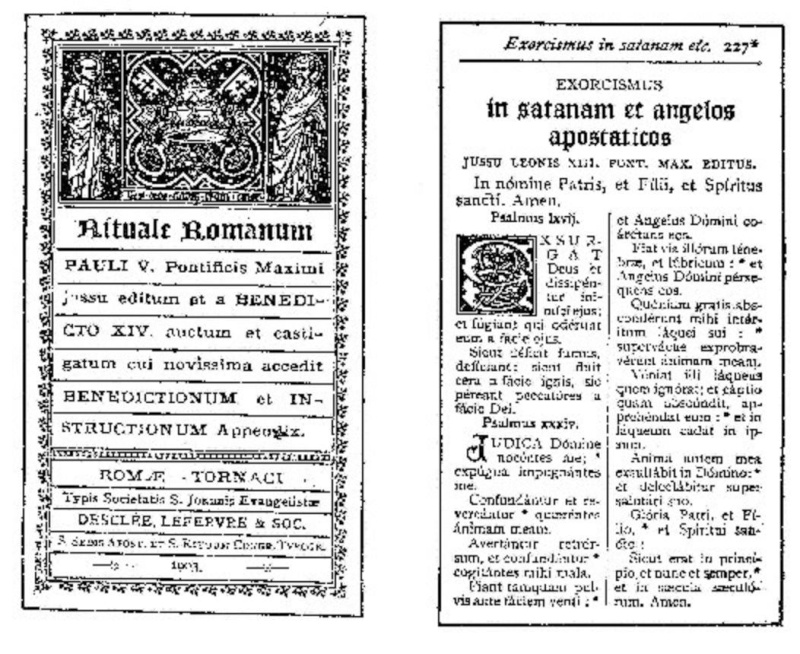 Exorcisme de Léon XIII. Exorci13