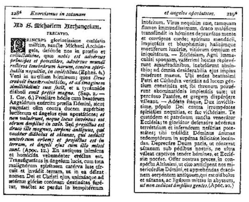 Exorcisme de Léon XIII. Exorci14