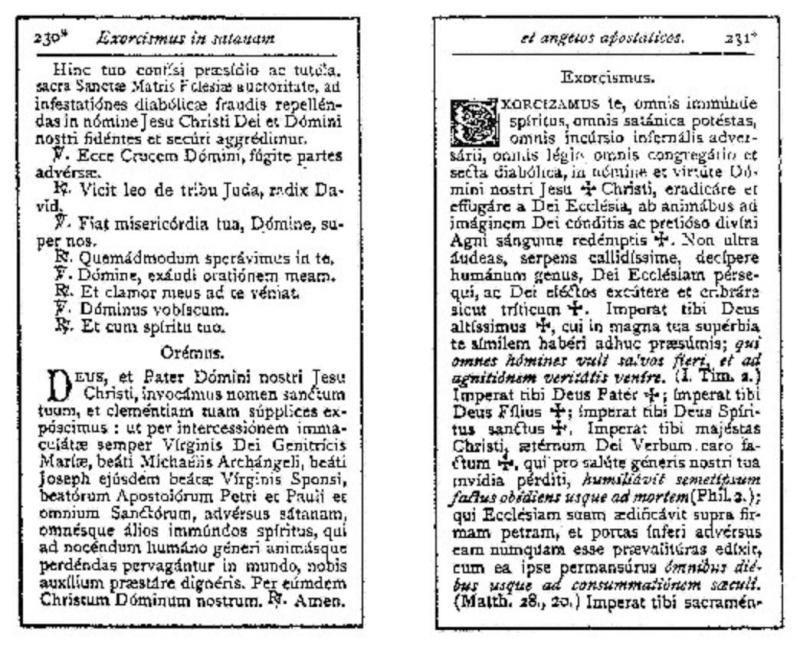 Exorcisme de Léon XIII. Exorci15