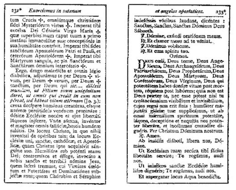 Exorcisme de Léon XIII. Exorci16
