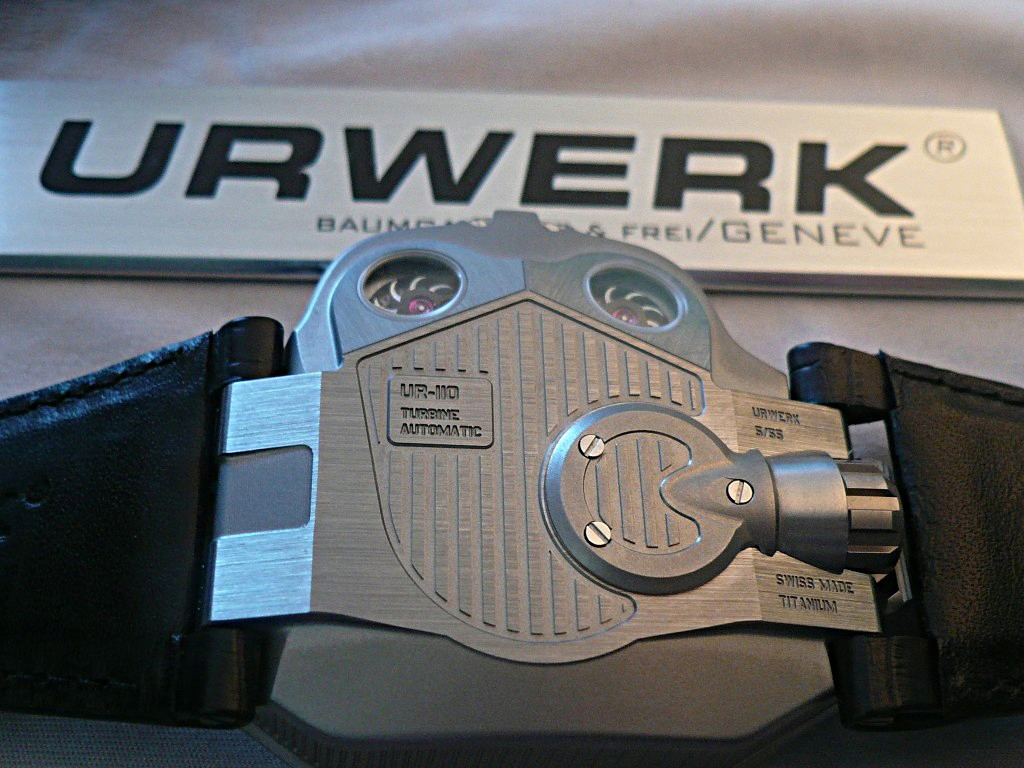 La nouvelle Urwerk 110 Ajan2017