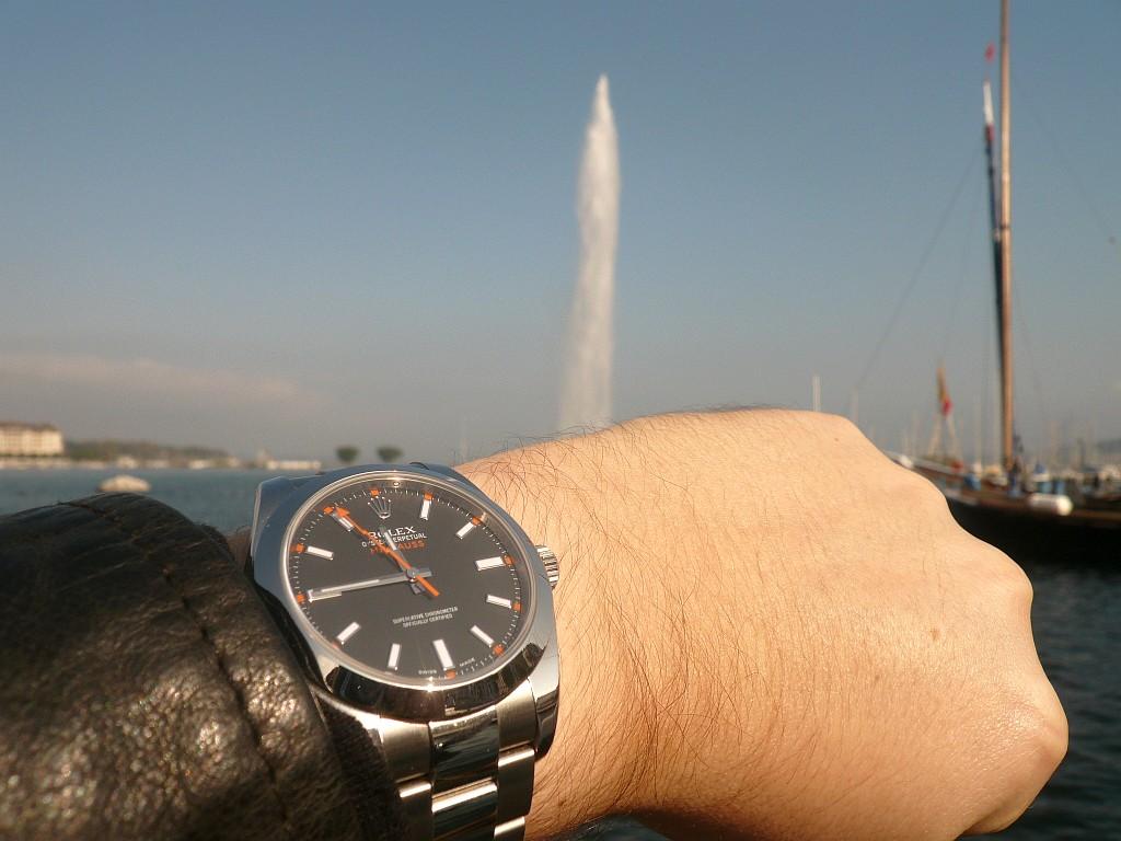 la Milgauss (actuelle) Geneve70