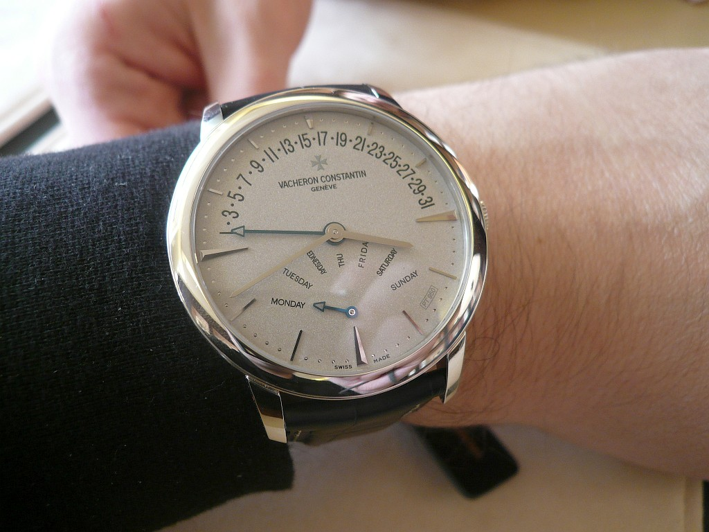 News : Vacheron Constantin Patrimony Double Retrograde Geneve75