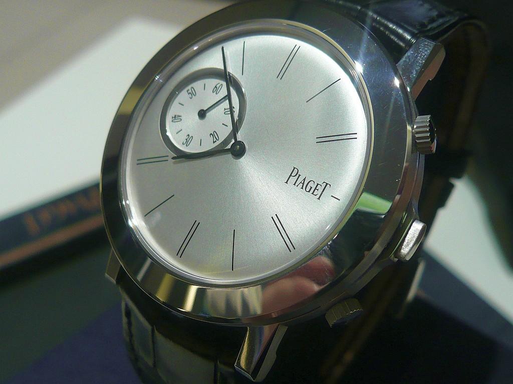 L'intrigante Piaget Double-Jeu Octobe76