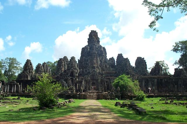 Le Monde par ses timbres sous Google Earth Angkor11