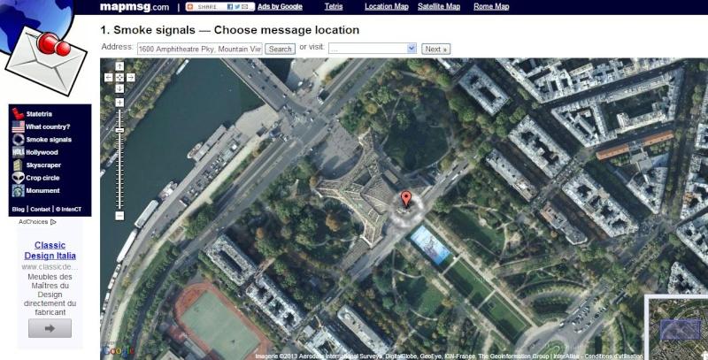 Envoyez vos signaux de fumée sur Google Maps  Captur22