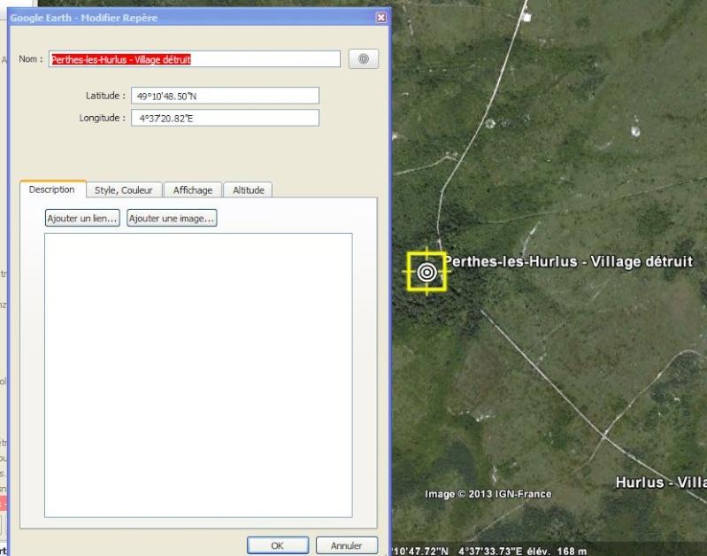 """Vestiges de la """"guerre des mines"""" (Première Guerre Mondiale) visibles dans Google Earth - Page 3 Captur44"""